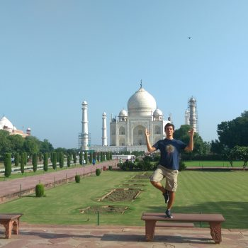 Yoga by the Taj - Excursion!